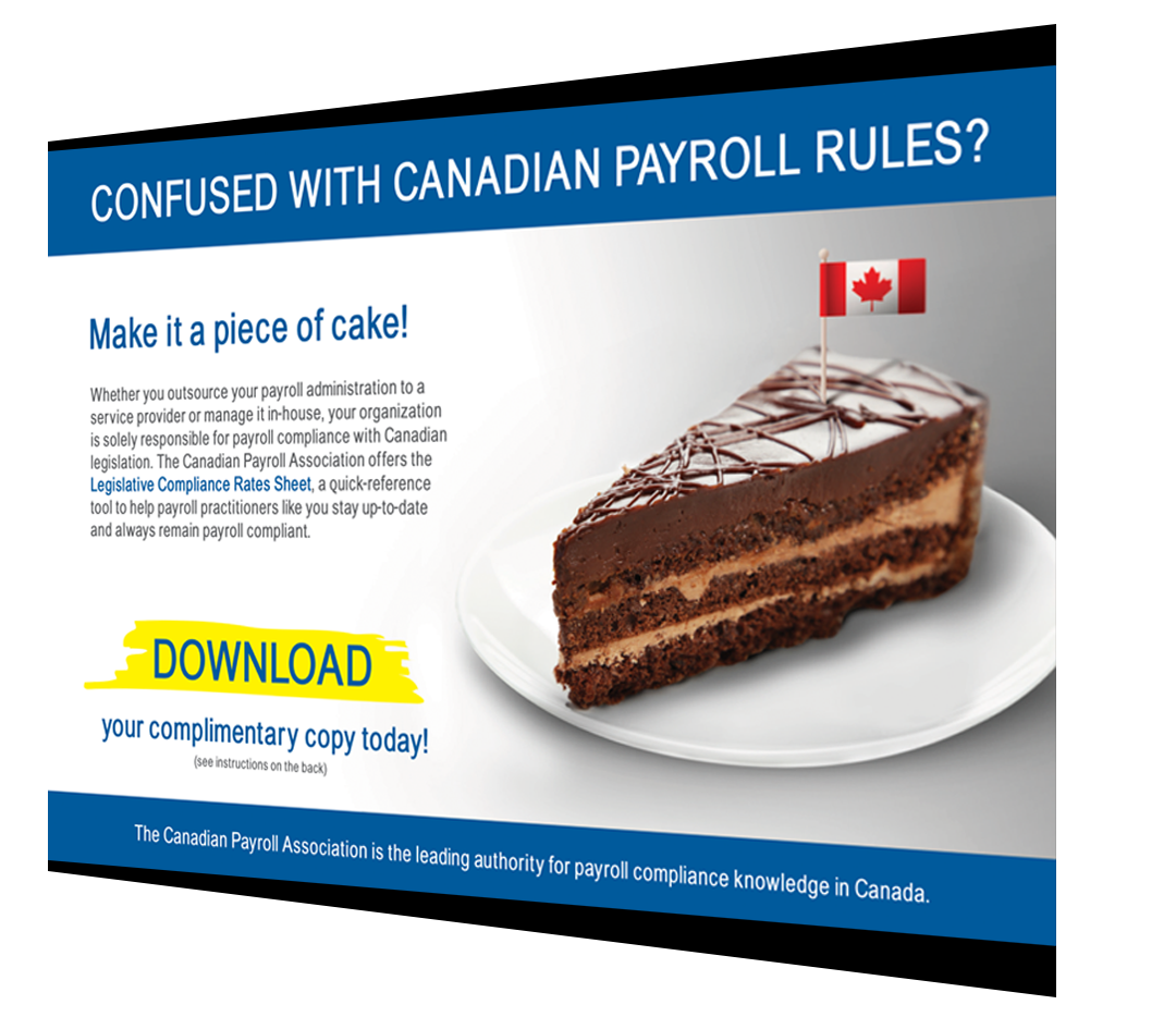 US Postcard of The Canadian Payroll Association